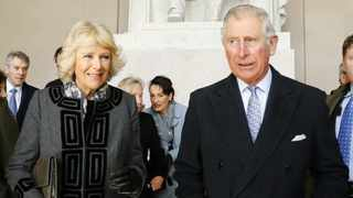 Britain's Prince Charles, right, Prince of Wales and his wife Camilla, Duchess of Cornwall. Picture: Reuters/Jonathan Ernst