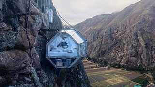 Skylodge Adventures in Sacred Valley, Peru. Picture: Supplied