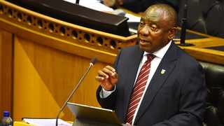 President Cyril Ramaphosa addressed a joint sitting of parliament on Thursday, where he outlined South Africa's economic recovery plan following the Covid-19 pandemic. Photo: Phando Jikelo/African News Agency (ANA)