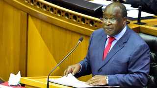 Finance Minister Tito Mboweni delivers his 2021 Budget Speech in the National Assembly. Picture: Elmond Jiyane/GCIS