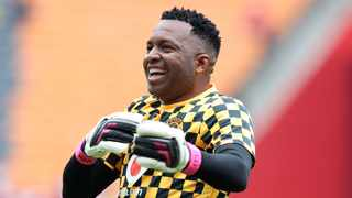 Itumeleng Khune was one of the South African stars participated in the latest challenge. Photo: Muzi Ntombela/BackpagePix