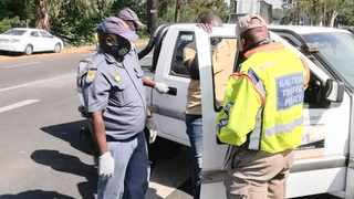 Police yesterday conducted an operation to root out crime and lawlessness in Laudium, Erasmia and Olievenhoutbosch. Picture: Sakhile Ndlazi