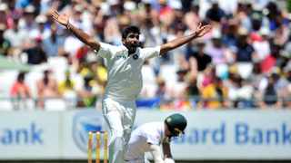 Ravi Shastri was confident India's five-member pace attack, which includes Jasprit Bumrah (pictured) and Mohammed Shami, could defend decent totals. Photo: Ryan Wilkisky/BackpagePix