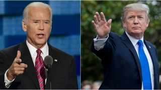 More than half of Americans approve of President Joe Biden after nearly 100 days on the job as opposed to former US President Donald Trump