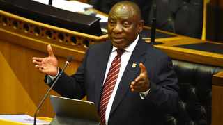 President Cyril Ramaphosa addresses members of Parliament in a Joint sitting about the economic recovery plan post Covid-19. Picture: Phando Jikelo/African News Agency(ANA)