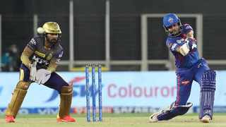 Upcoming superstar Prithvi Shaw smashed the fastest 50 of the Indian Premier League season when Delhi Capitals hammered Kolkata Knight Riders to go second on the table. Photo: @IPL/Twitter