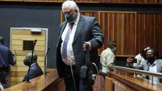 Angelo Agrizzi during an appearance at the Palm Ridge Specialised Crimes Court. Picture:Timothy Bernard/African News Agency(ANA)