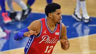 Philadelphia 76ers forward Tobias Harris says they wanted to have a go against the LA Lakers. Picture: Eric Hartline/USA TODAY Sports via Reuters