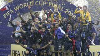 France celebrate their World Cup final victory after beating Croatia 4-2 in Moscow in July. Photo: Cao Can/Xinhua