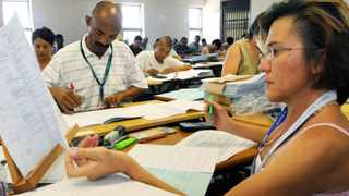 The marking of matric exam papers is nearing completion. Picture Ian Landsberg/African News Agency(ANA)