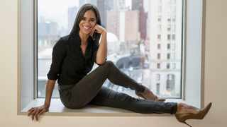 American Ballet Theatre's principal dancer Misty Copeland poses for a portrait in New York. Thirty-two dancers from 14 countries have performed a ballet for a virtual audience to benefit the struggling dance community. Picture: Matt Licari/Invision/AP, File