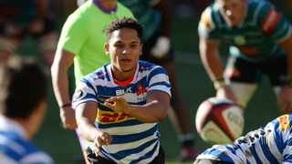 Western Province scrumhalf Herschel Jantjies says they may have gone about securing a semi-final in a way that 'some people may complain about', but it's a way that's worked for them. Photo: Ryan Wilkisky/BackpagePix