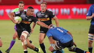 Juarno Augustus should have scored a try for the Stormers in the dying moments against the Bulls. Picture: Samuel Shivambu/BackpagePix