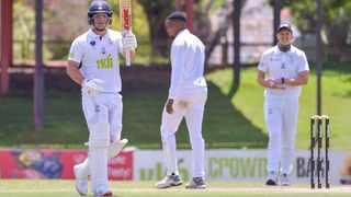 Jacques Snyman of VKB Knights after reaching his 50 during day 1 of the CSA 4-Day 2020/21 game against the Warriors at Mangaung Oval in the Free State on 2 November 2020. Photo: Frikkie Kapp/BackpagePix