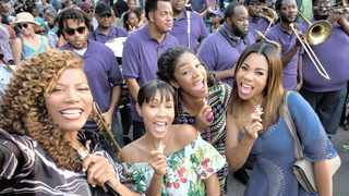 Queen Latifah, Jada Pinkett Smith, Tiffany Haddish and Regina Hall. Picture: Michele K Short, Universal Pictures