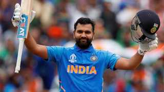 Rohit Sharma will lead India in the T20 series against Bangladesh. Photo: Andrew Boyers/Reuters