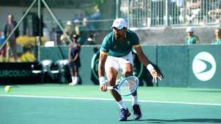 South Africa's Raven Klaasen in action during the 2019 Davis Cup. Picture: Ryan Wilkisky/BackpagePix