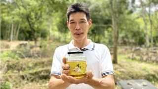 Zheng Quanfu is now a famous expert in beekeeping in his hometown. Picture: Wang Xian/ People's Daily Online