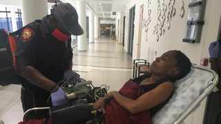 Refilwe Mabusela, one of the service providers who fed the homeless during the Covid-19 lockdowns, fainted owing to stress after not being paid by the City of Tshwane. Picture: Rapula Moatshe