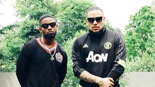 Prince Kaybee and AKA. Picture: Twitter