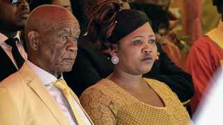 Lesotho prime minister Tom Thabane and his wife Maessaiah. Photo: Justice Kalebe