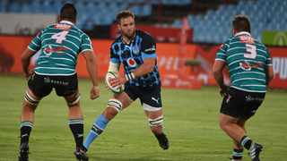 Before Bulls man Jason Jenkins retuns to the Toyota Verblitz club in Japan, he wants to get one over Cheetahs counterpart Carl Wegner. Picture: Lee Warren/Gallo Images via BackpagePix