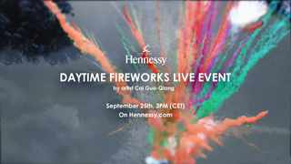 Join Hennessy this afternoon at 3pm for a not-to-be-missed global event, live from the banks of the Charente River in Cognac, France.