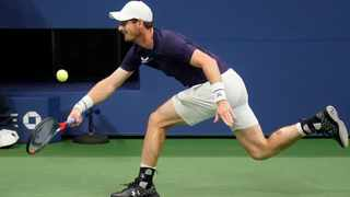 Andy Murray could only managed nine winners in his match against Felix Auger-Aliassime, who managed 52. Picture: Frank Franklin II/AP