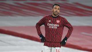 Pierre-Emerick Aubameyang and his Gabon team mates were forced to spend the night sleeping on the airport floor ahead of their vital Africa Cup of Nations qualifier against Gambia. Photo: Andy Rain/Reuters