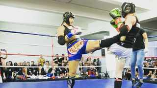Stacey Kensley enjoys her Muay Thai and Kickboxing, however, she also dabbles in a bit of boxing. Photo: Supplied.