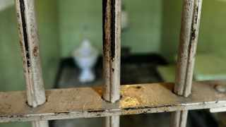 Bars of a prison cell. File Picture.