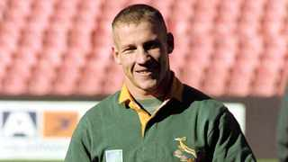 James Small always wore his Bok heart on his sleeve. Photo: BackpagePix