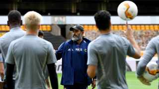 Wolvers manager Nuno Espirito Santo has echoed Chelsea boss Frank Lampard's call for the Premier League to give teams in European competitions an extended break ahead of the new season, to protect the health of players. Photo: Reuters