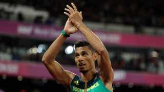 Wayde van Niekerk has tested positive for Covid-19, If reports are to be believed. Photo: AP Photo