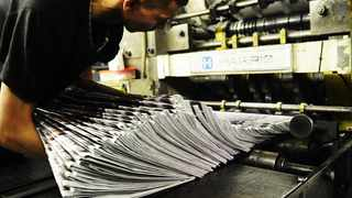 Printing press, press freedom, press, media, paper, news, free, fair. Photo by Michael Walker
