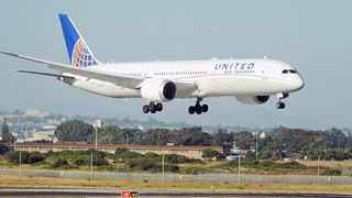 File photo: United Airlines announced a trial of flights between Newark Liberty International Airport in New Jersey and London Heathrow where every passenger receives a rapid coronavirus test before boarding. Picture: David Ritchie/African News Agency(ANA)