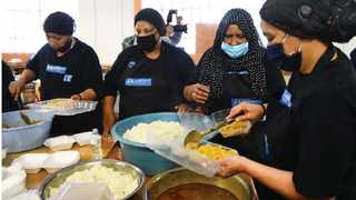 NGO Generosity for Humanity has fed close to 60 000 people after launching its Central Kitchen at Manenberg High School. Picture: Phando Jikelo/African News Agency (ANA)