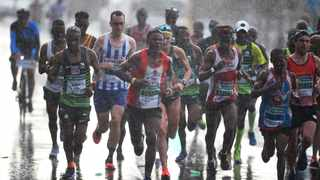 Close to 40 000 runners participated in the 50th Old Mutual Two Oceans Marathon in Cape Town in 2019. Picture Phando/Jikelo/African News Agency (ANA)