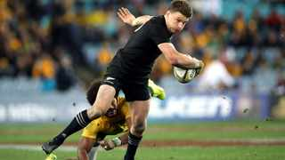 Beauden Barrett and his All Blacks teammates will take on the Wallabies in October. Picture: Paul Seiser/www.photosport.co.nz via Backpagepix
