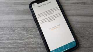 The Care19 mobile app is aimed to assist in contact tracing during the global outbreak of the coronavirus. Picture: Reuters/Paresh Dave