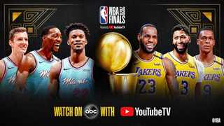 Watch the 2020 NBA Finals (Game 1) between the LA Lakers and Miami Heat at 3am on Supersport. Photo: @NBA on twitter