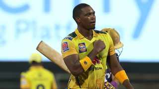 Proteas and Chennai Super Kings' fast bowler Lungi Ngidi has credited Dwayne Bravo for teaching him the slow ball that deceived Dinesh Karthik in Wednesday's Indian Premier League clash. Photo: @ChennaiIPL/Twitter