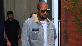 Kanye West and his Family seen leaving Hotel to attend a Sunday church service in Queens at The Greater Allen AME Cathedral of New York on September 29, 2019 in New York City. Picture: Bang Showbiz
