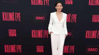 Sandra Oh arrives at the season two premiere of 'Killing Eve' on Monday, April 1, 2019, at ArcLight Hollywood in Los Angeles. Picture: Richard Shotwell/Invision/AP