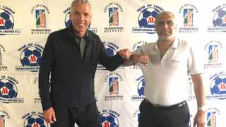 Ernst Middendorp is back in charge of Maritzburg United for a fourth time, and has been tasked with getting the club out of the relegation quagmire they find themselves in. Photo: @MaritzburgUtd/Twitter