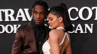 Travis Scott and Kylie Jenner. Picture: Reuters