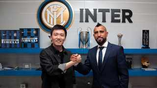 Finally a Nerazzurri player! Welcome to Inter, @kingarturo23#WelcomeVidal Inter posted on social media. Photo: @Inter-en on twitter