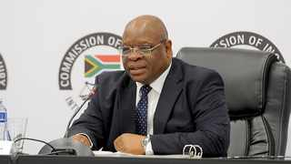 Deputy Chief Justice Raymond Zondo chairs the judicial inquiry into allegations of state capture. Picture: Karen Sandison/African News Agency (ANA)