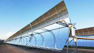 UPINGTON - The R5 billion ACWA Power Solafrica Bokpoort Concentrated Solar Power (CSP) Project in the Northern Cape. Independent Archives
