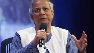 Nobel Prize winner Muhammad Yunus participates in a panel discussion at the Clinton Global Initiative in New York in this September 23, 2009 file photo. REUTERS/Chip East/Files